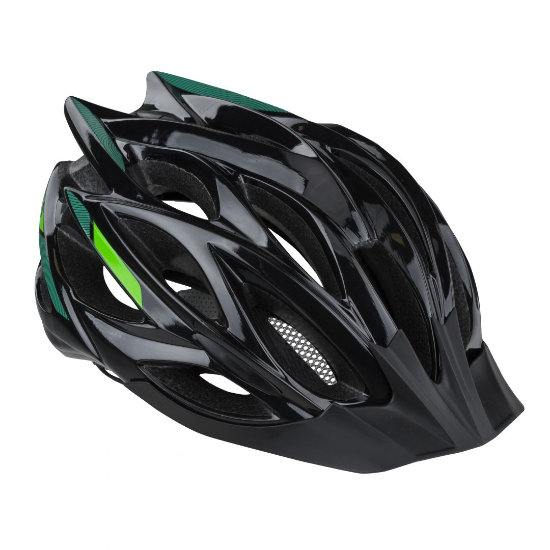 Prilba DYNAMIC 019 black-green M/L