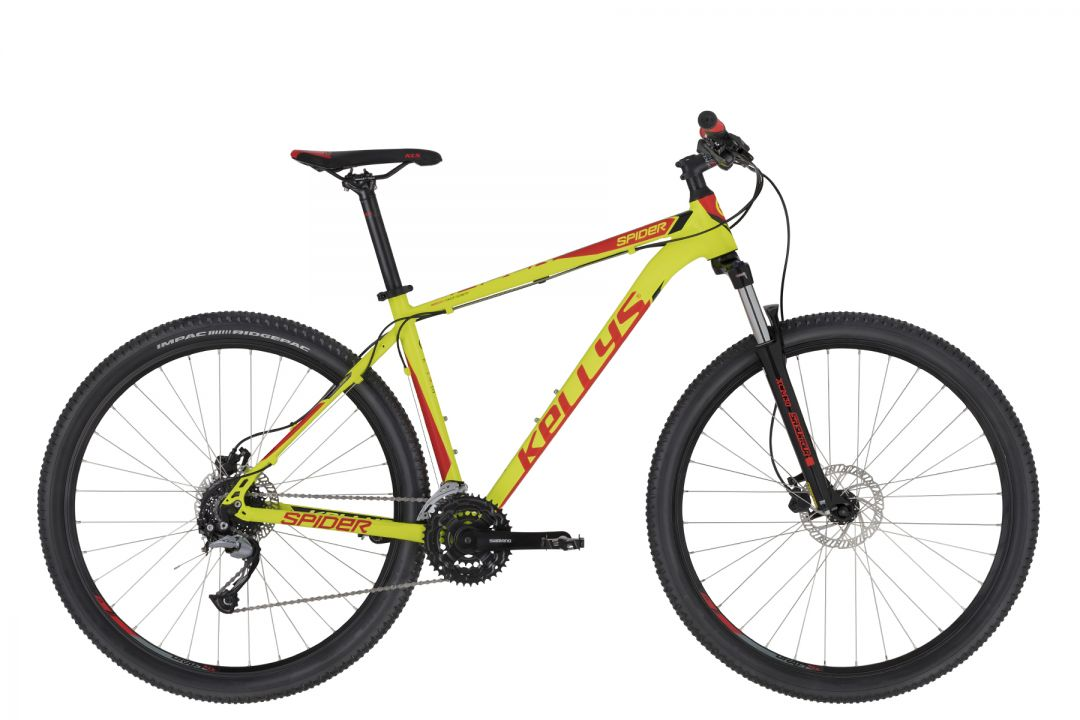KELLYS Spider 30 Neon Lime   27.5