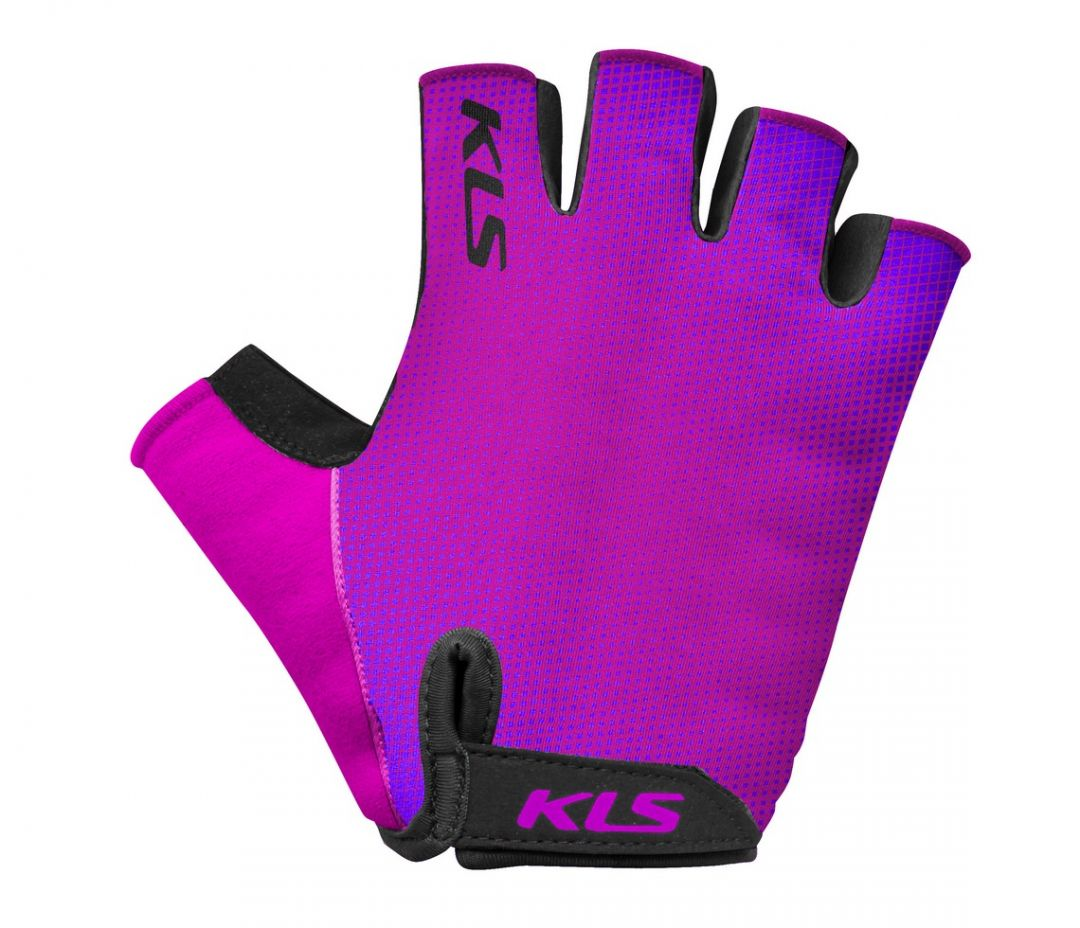 Rukavice KLS Factor purple 2020
