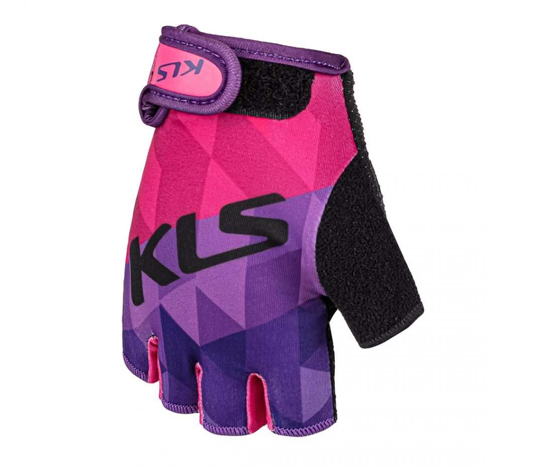 Rukavice KLS YOGI short, purple, L